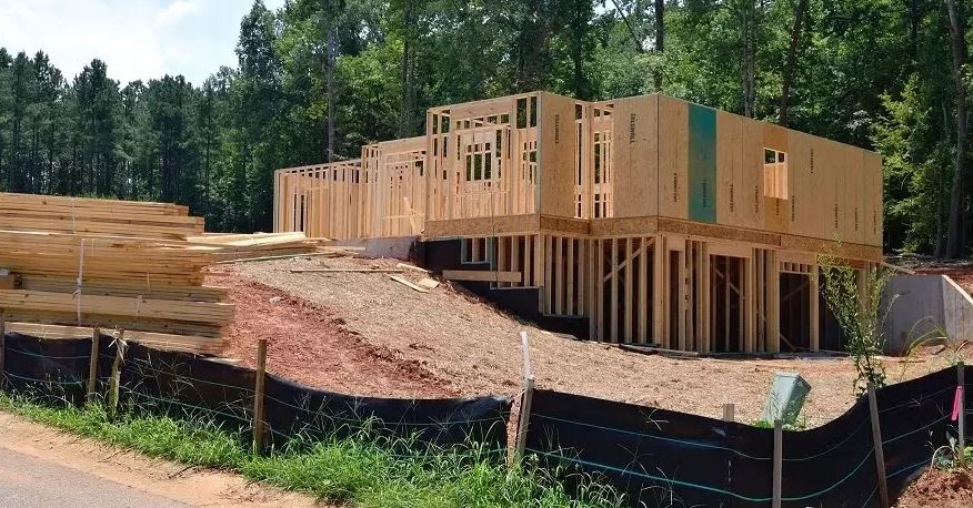 When building a house, you need to consider the terrain